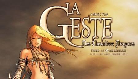 La Geste des Chevaliers Dragons t.17 - Extrait