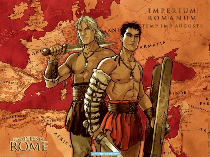 Les Aigles de Rome livre IV - Extrait
