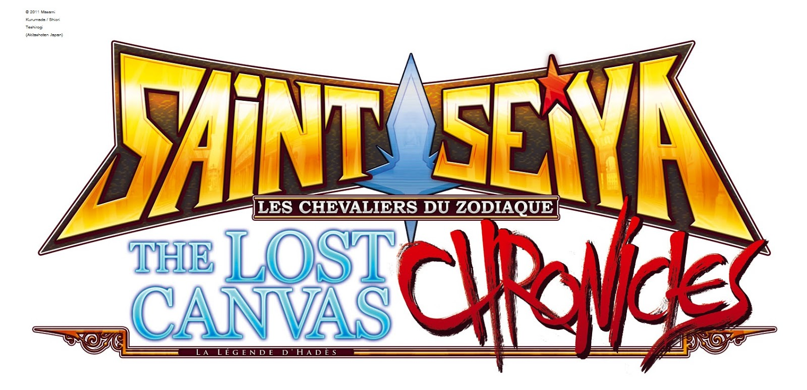 Logo Saint Seiya TLC Chronicles