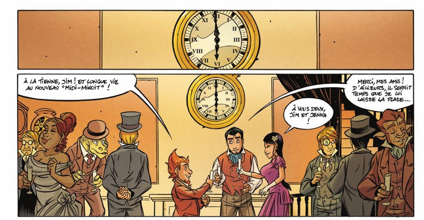 Les arcanes du Midi-Minuit t.11 - Extrait