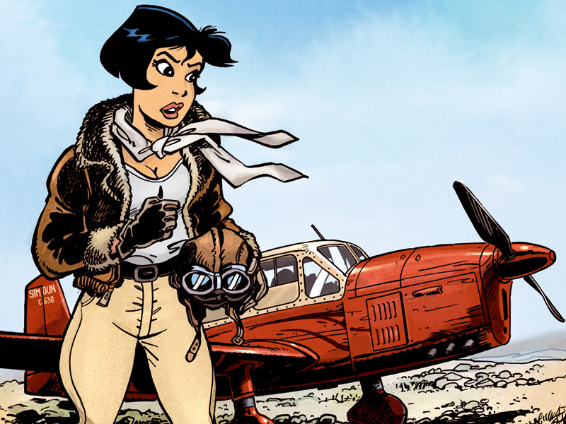 L'aviatrice t.1 - Extrait