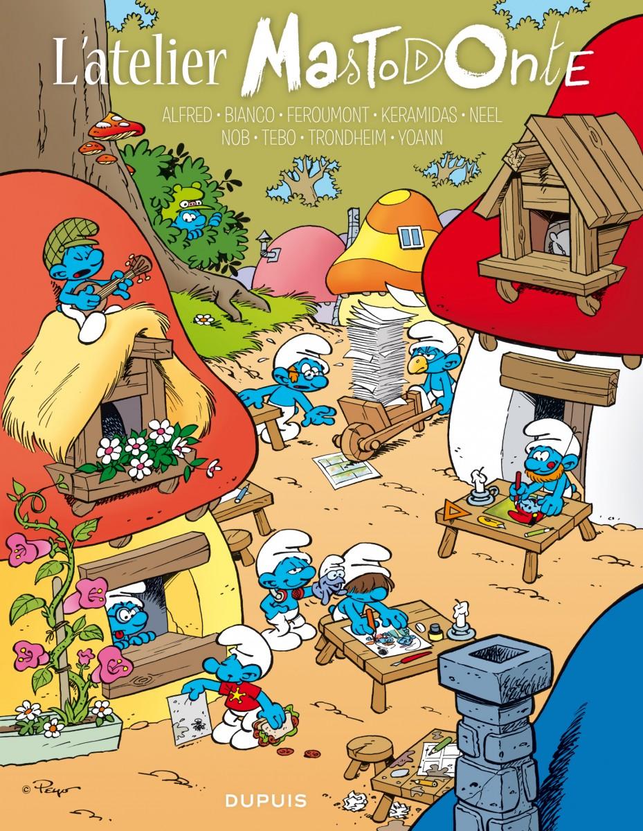L'atelier Mastodonte t.2 - couverture