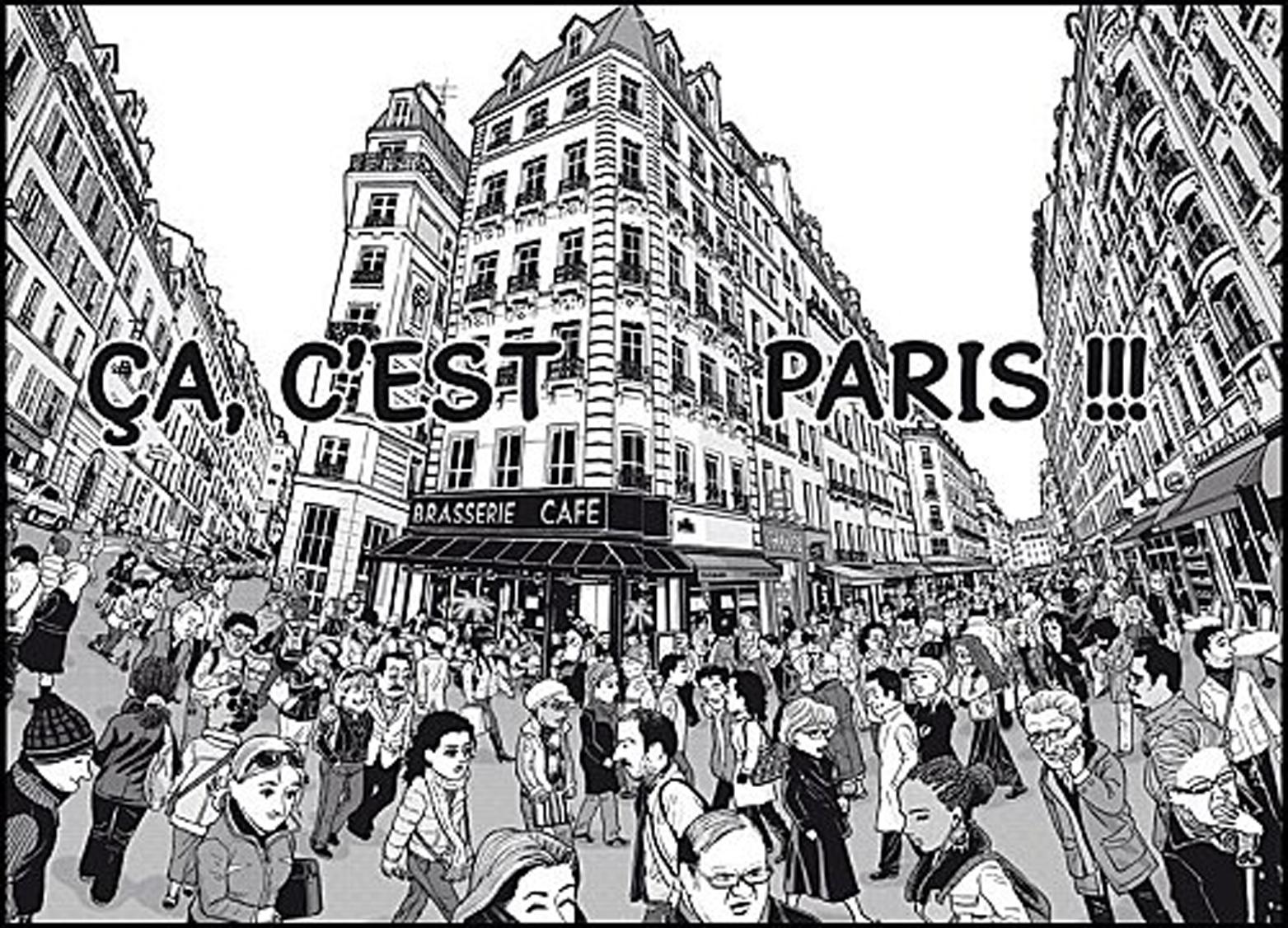Paris, toujours !  - Planche 2