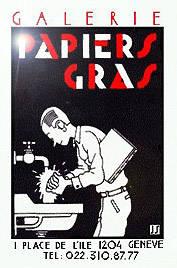Papier Gras - Logo