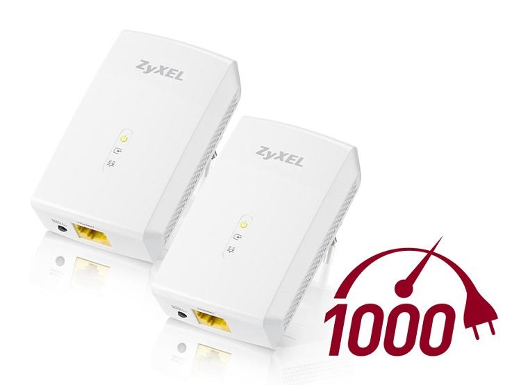 Adaptateur Powerline ZyXEL PLA5206 - une connexion à grande vitesse partout chez vous