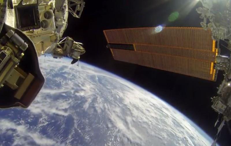 GoPro- de sortie dans l'espace!