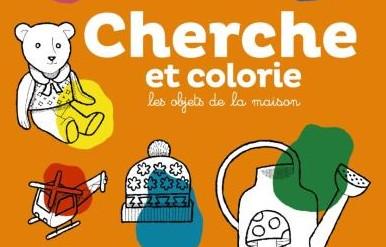 Cherche et colorie : Les objets de la maison