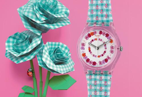 La montre ROSES4U- une idée cadeau pour la fête des mères