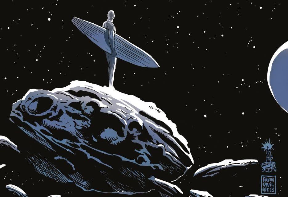 silver surfer t.1 - extrait