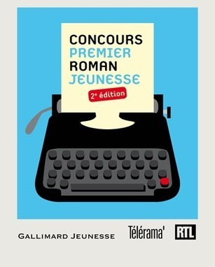 Tentez votre chance à la 2ème édition du Concours du Premier Roman Jeunesse Gallimard affiche