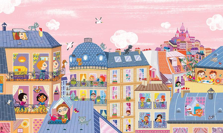 cherche et trouve dans paris - lily mène l'enquête