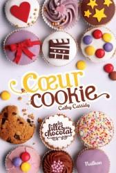 les filles au chocolat - coeur cookie