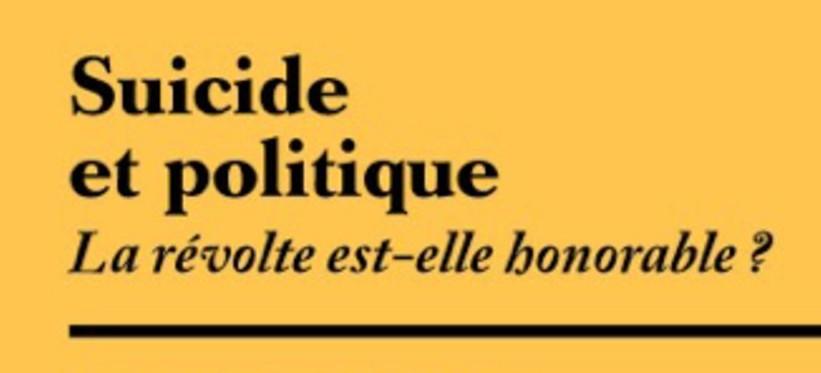 Suicide et politique