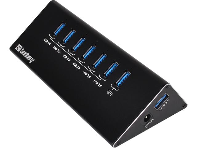 Sandberg – USB 3.0 Hub 6+1 ports