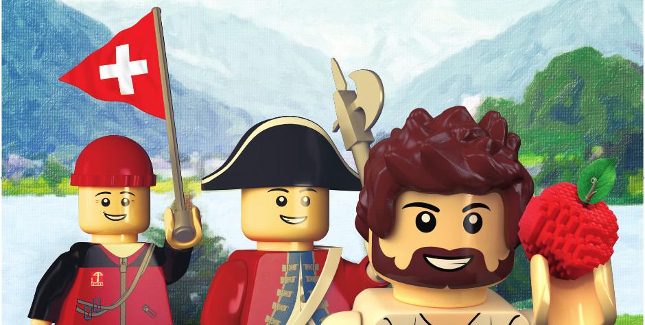 Histoire en Briques (Lego) au domaine des Penthes jusqu'au 14 février 2016