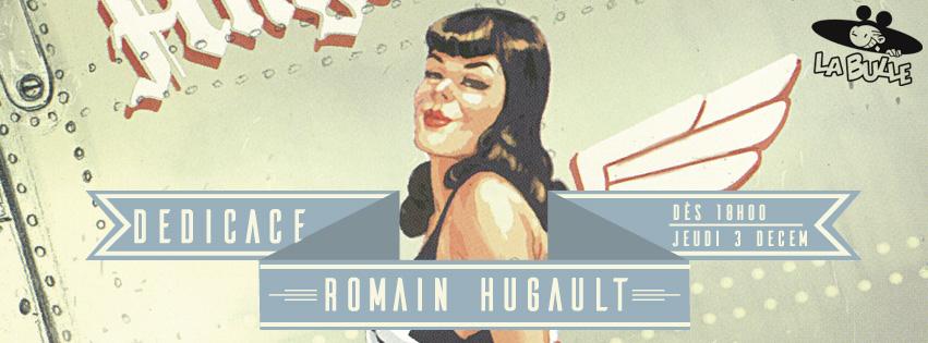 dedicace romain hugault