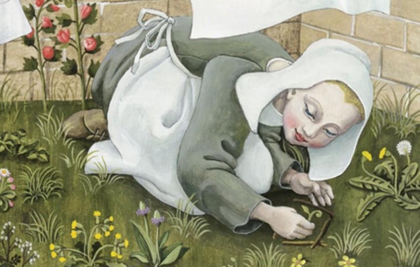 La jeune fille au ruban