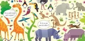 Cherche et trouve : Au zoo