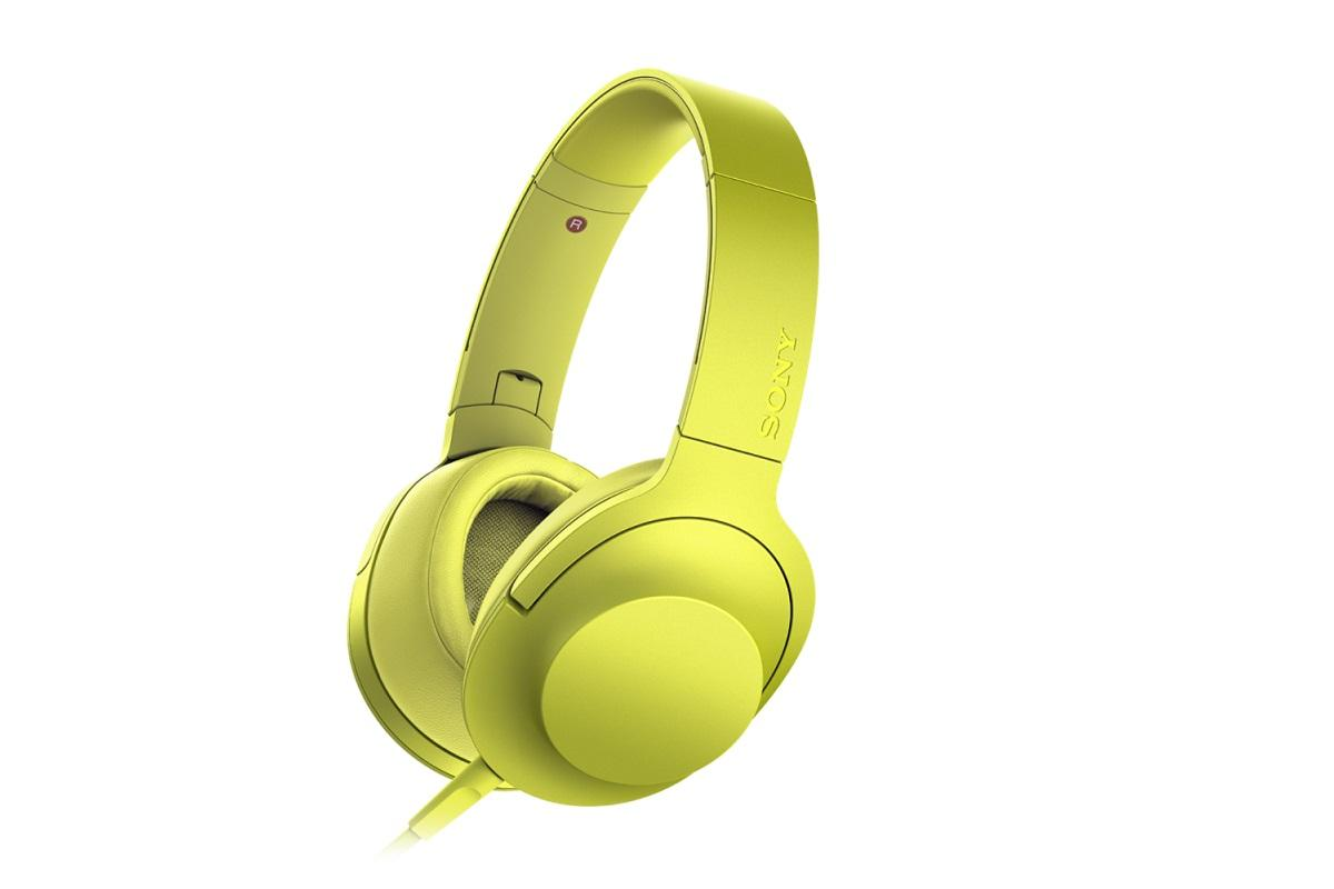 Sony h.ear on jaune