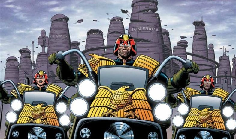 judge dredd origines - extrait