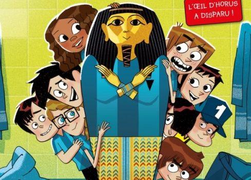 Les Footballissimes, L'œil d'Horus a disparu !